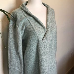 Lou & Grey Oversized Cowl Neck Sweater Wool Blend
